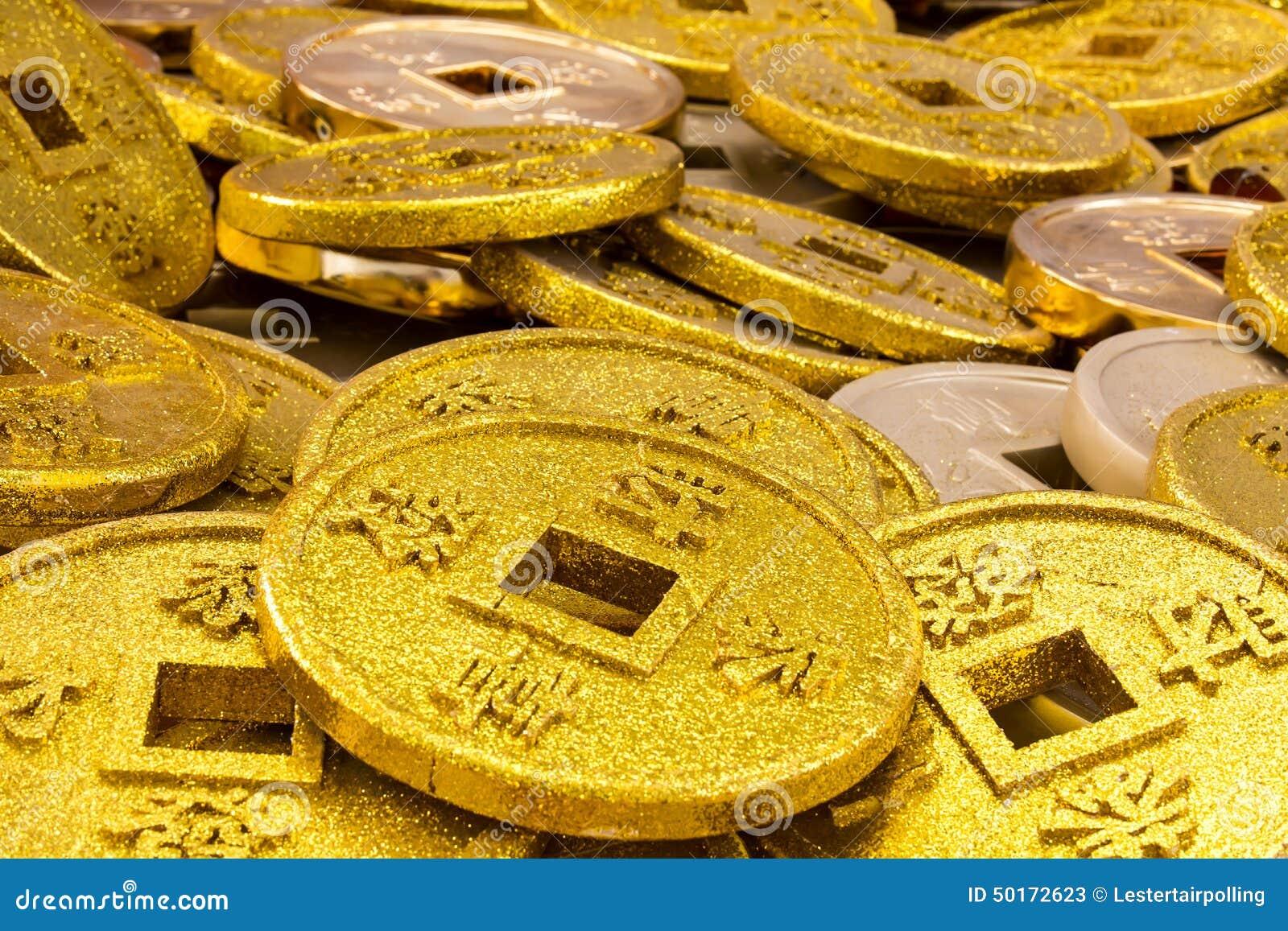 Monedas chinas