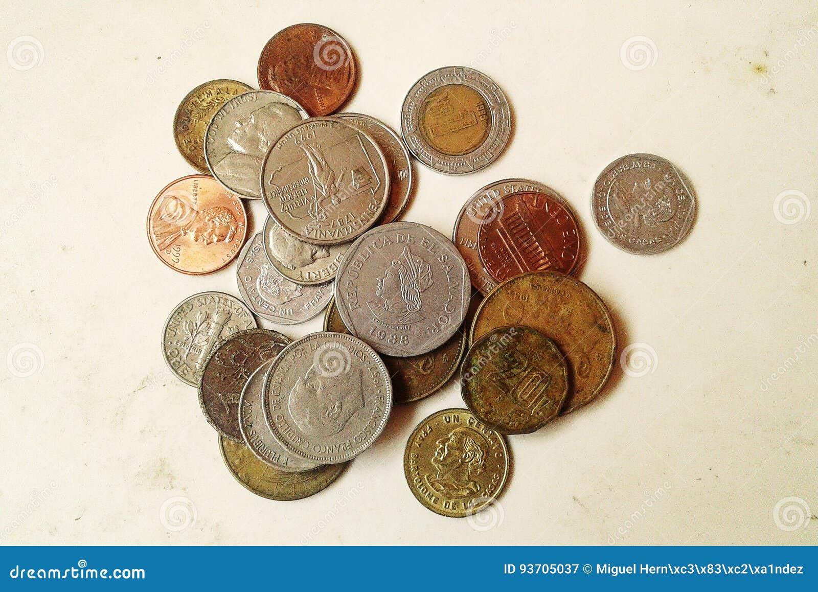 Monedas currencies