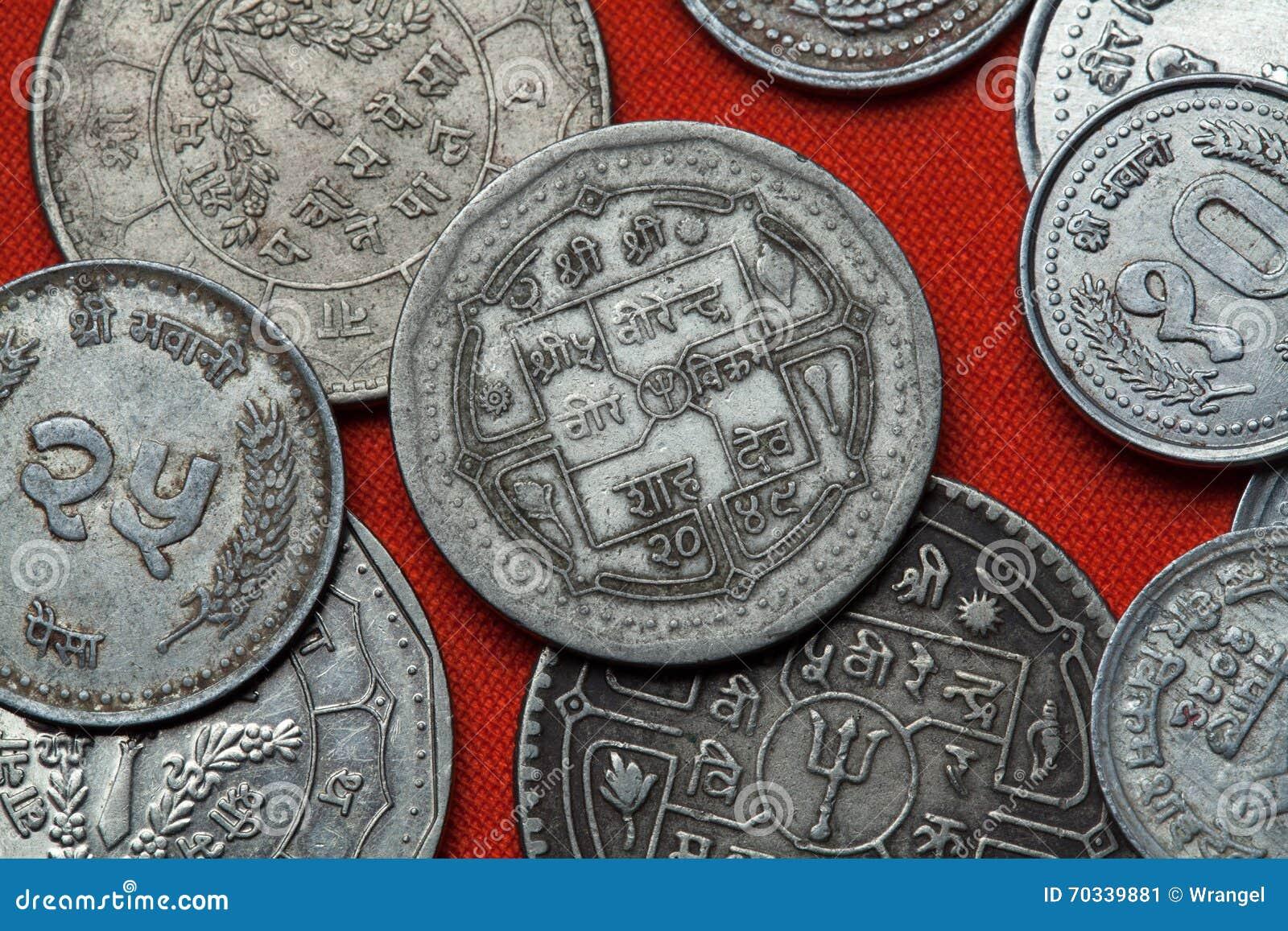Monedas de Nepal