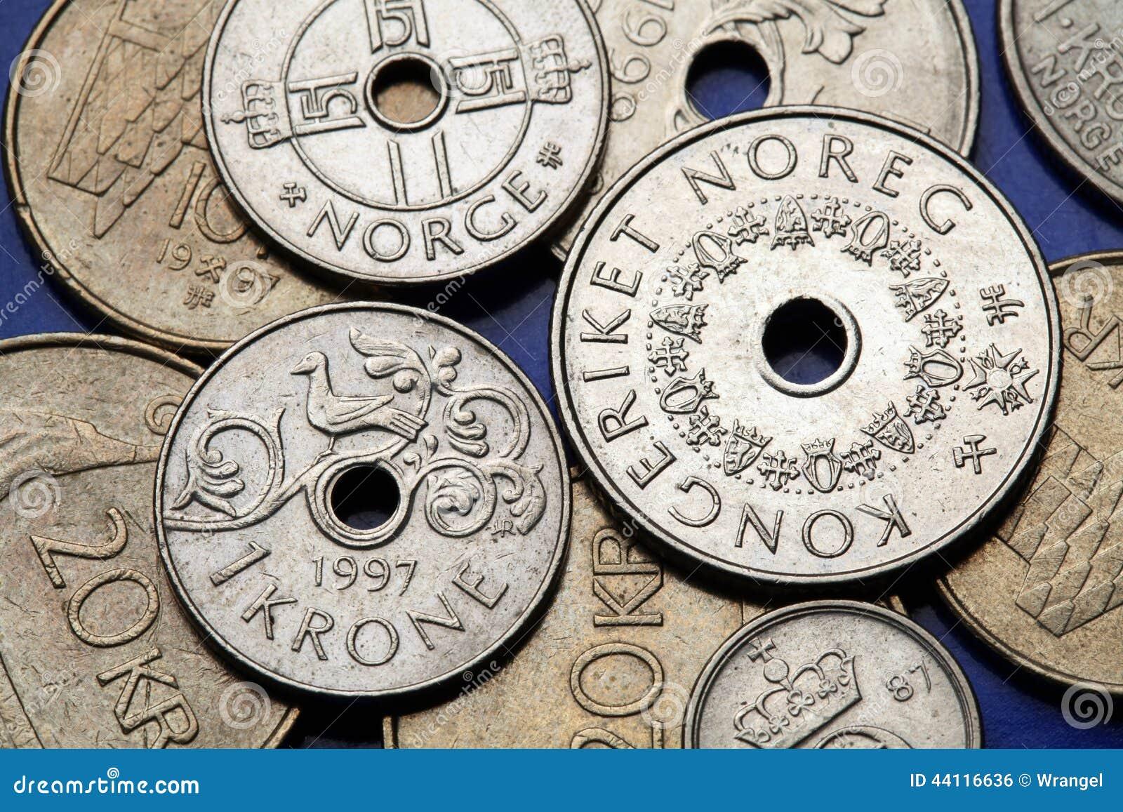 Monedas de Noruega