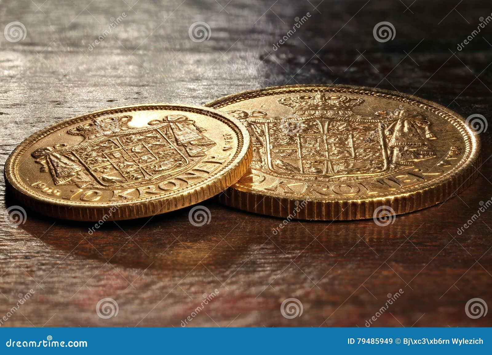 Monedas de oro danesas