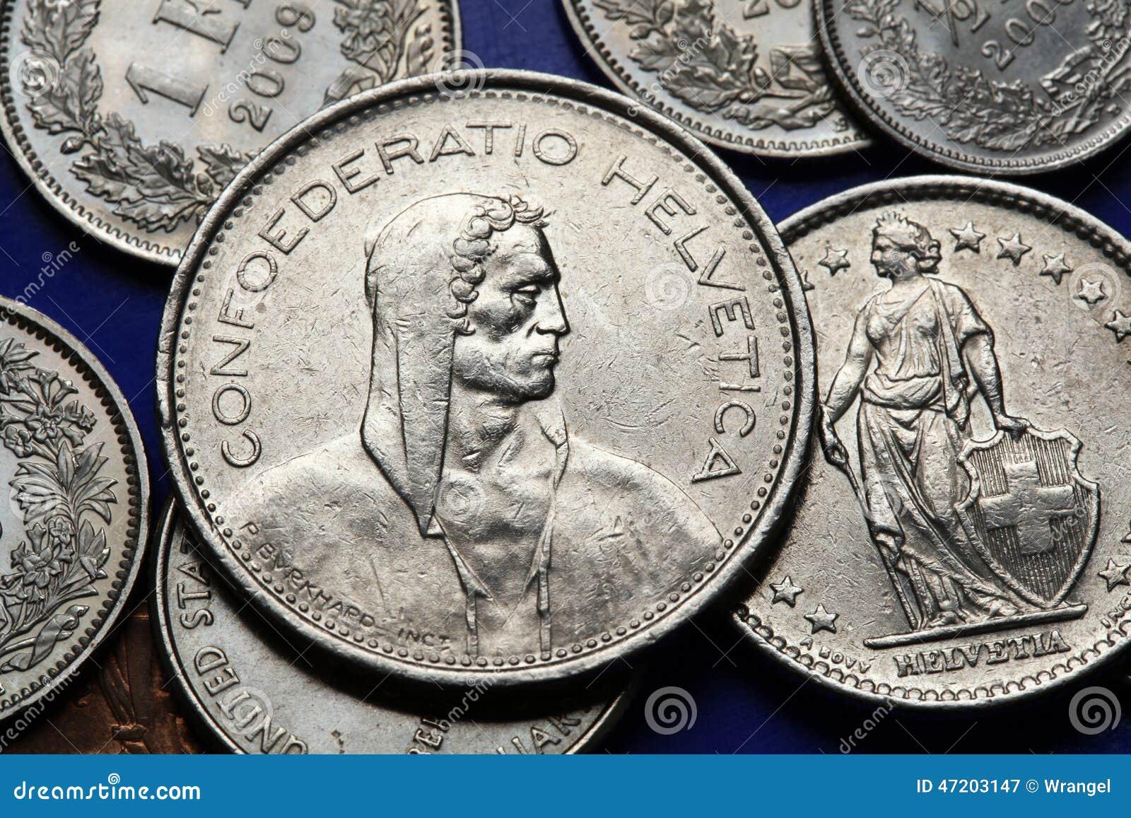 Monedas de Suiza