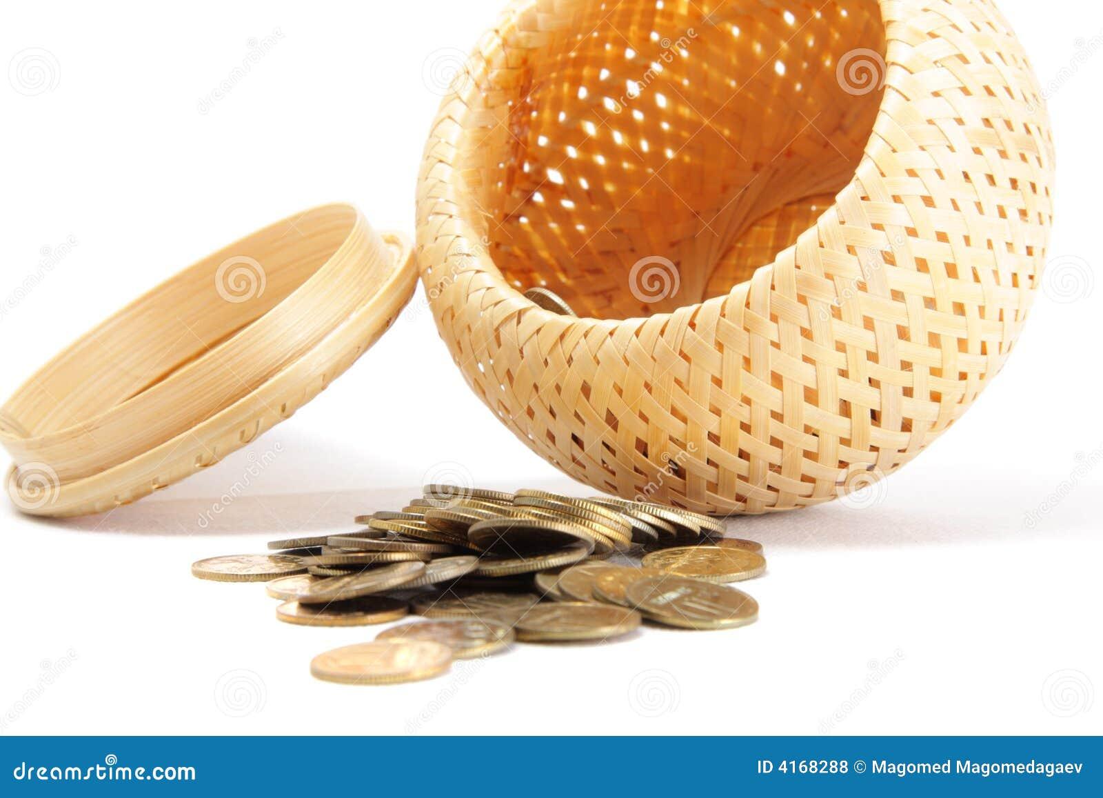 Monedas dispersadas