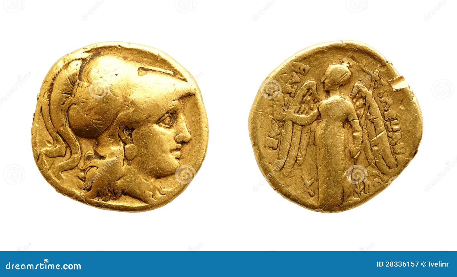 Moneta di oro antica