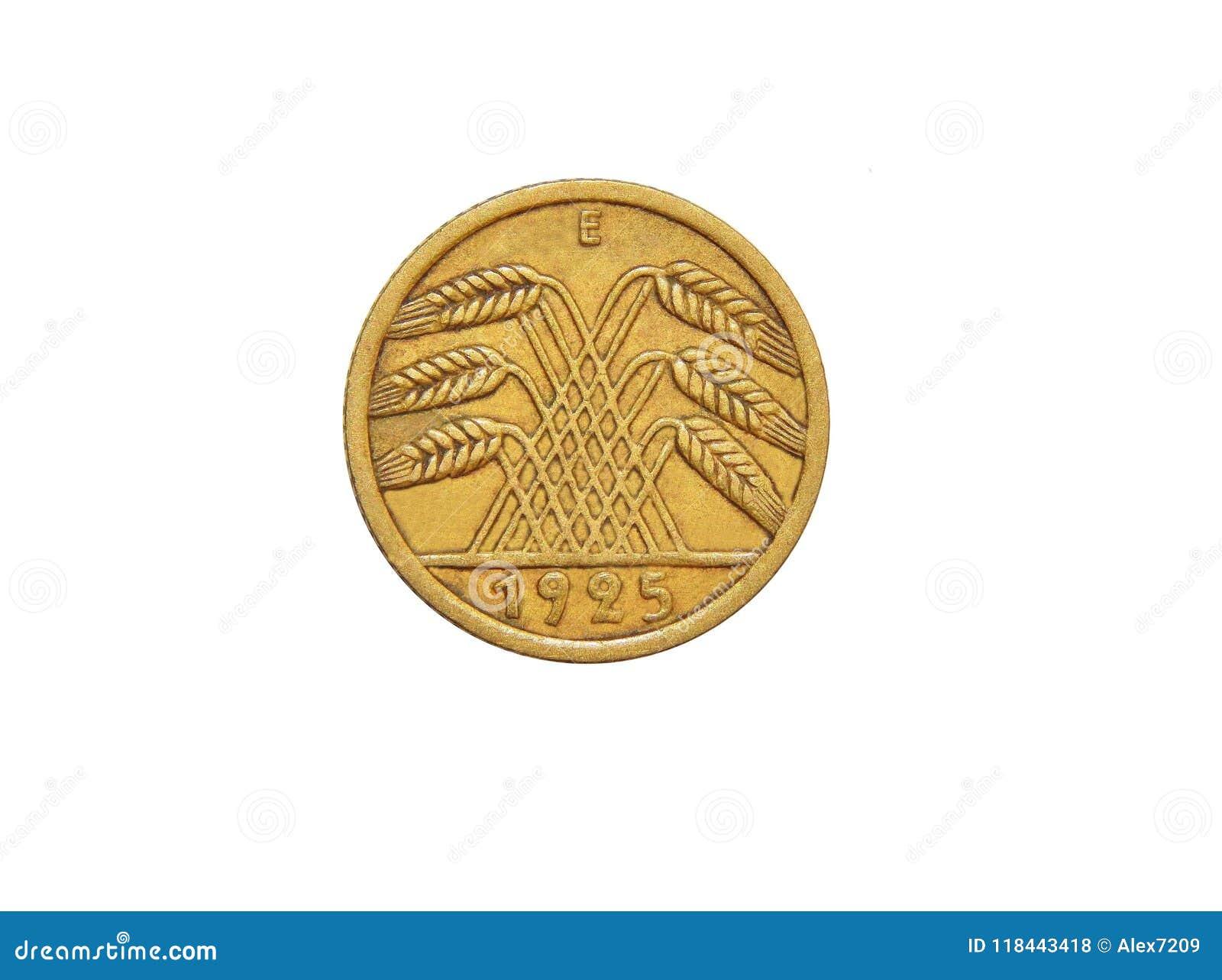 Moneta Niemcy 5 Reichspfennig Weimar republika