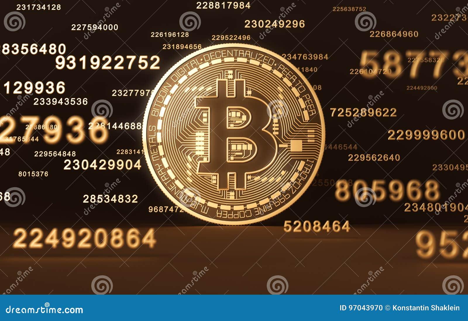 Moneta virtuale Bitcoin e cifre