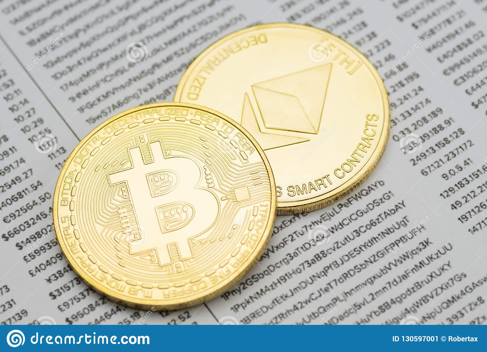 Kolekcinė Bitcoin BTC moneta, 4 cm