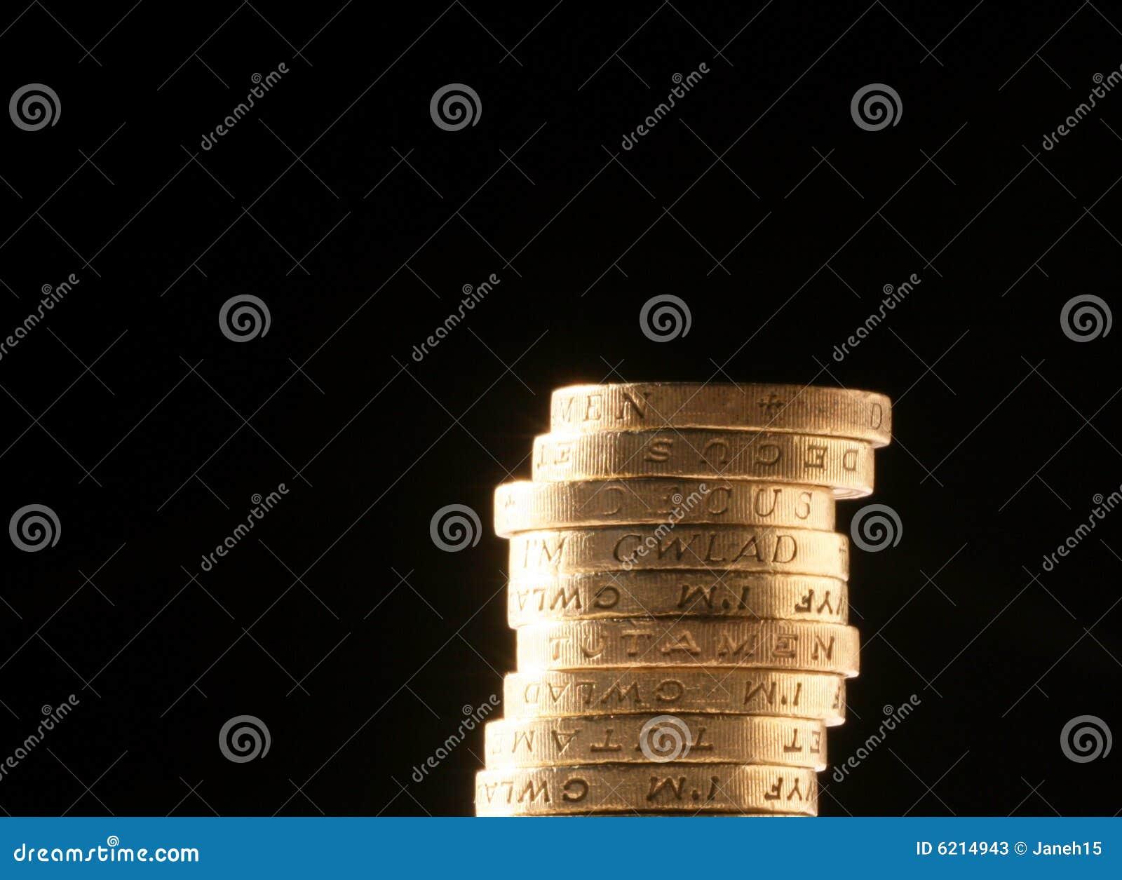Monety funtów brytyjskich