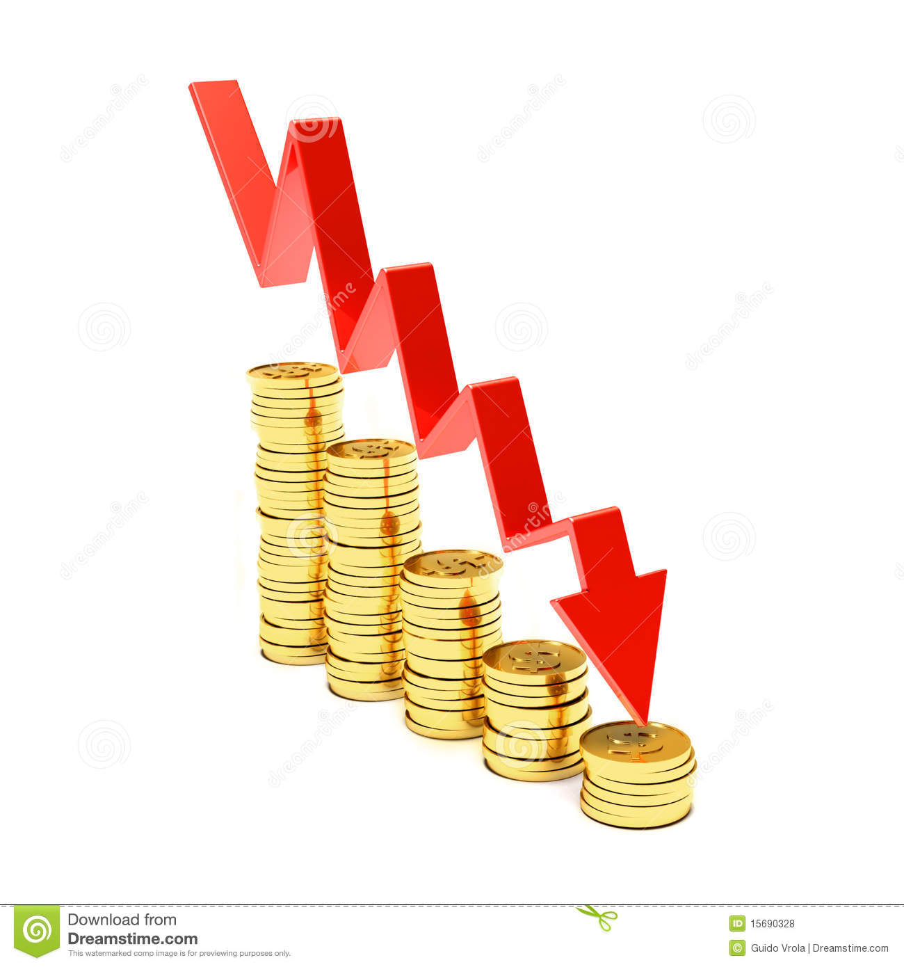 Less Money Royalty Free Stock Photos Image 15690328