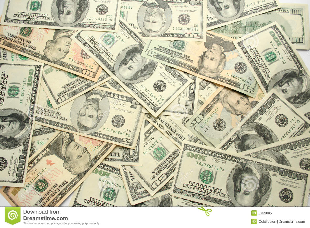 Money Background. Royalty Free Stock Photo - Image: 3783085