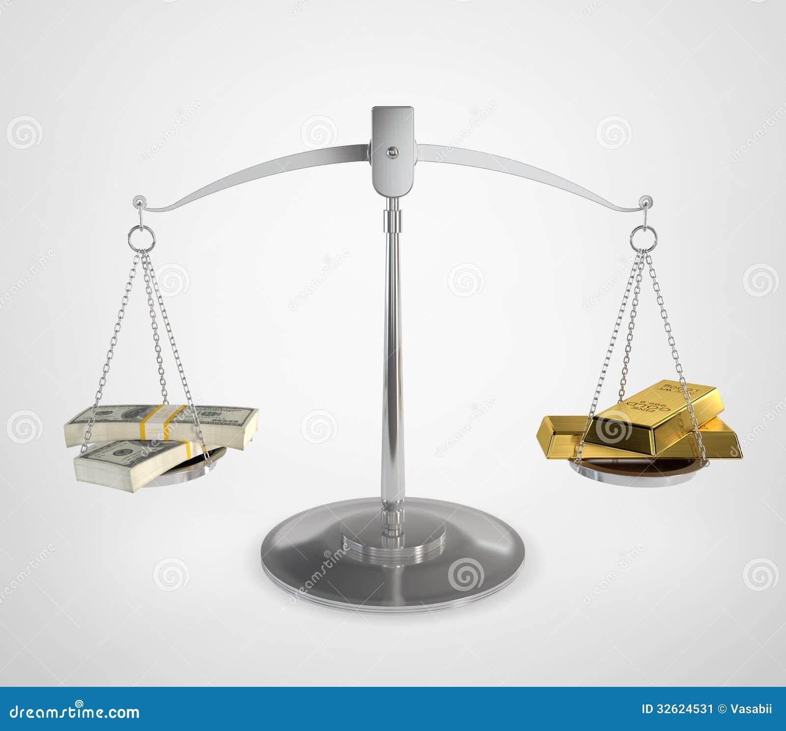 Money Balance Stock Image - Image: 32624531