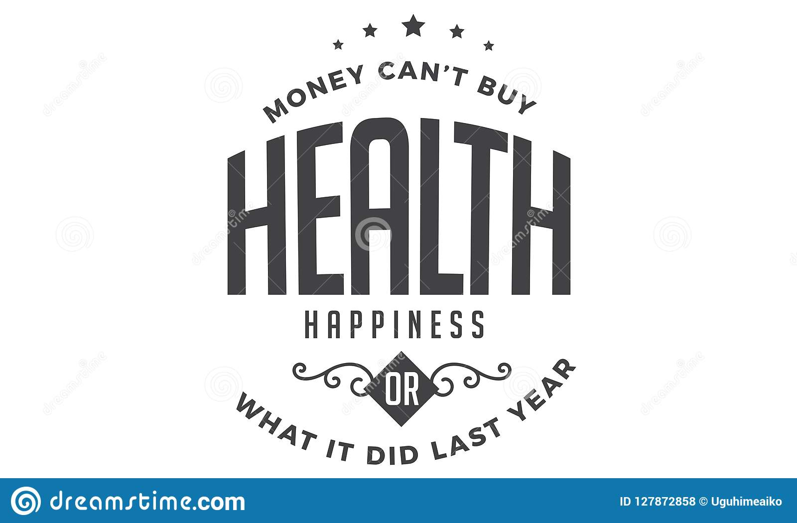 Money Cant Buy Health Happiness Or What It Did Last Year Stock