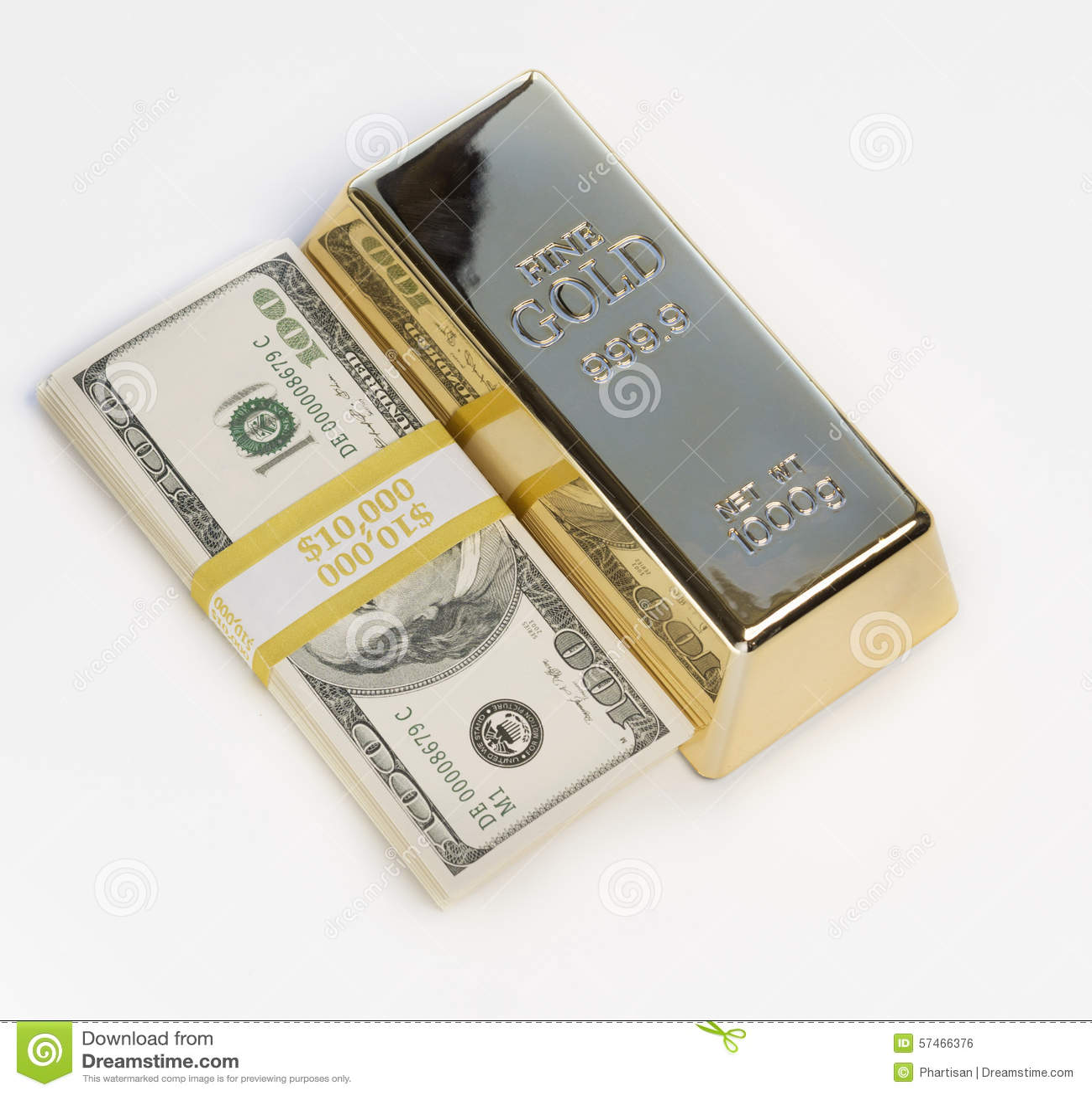 Download Moneycashgold Bullion Stock Photo Image Of Precautionary