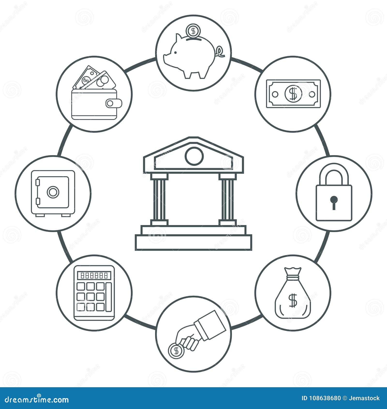 Money Certificate Of Deposit Stock Vector Illustration Of Budget