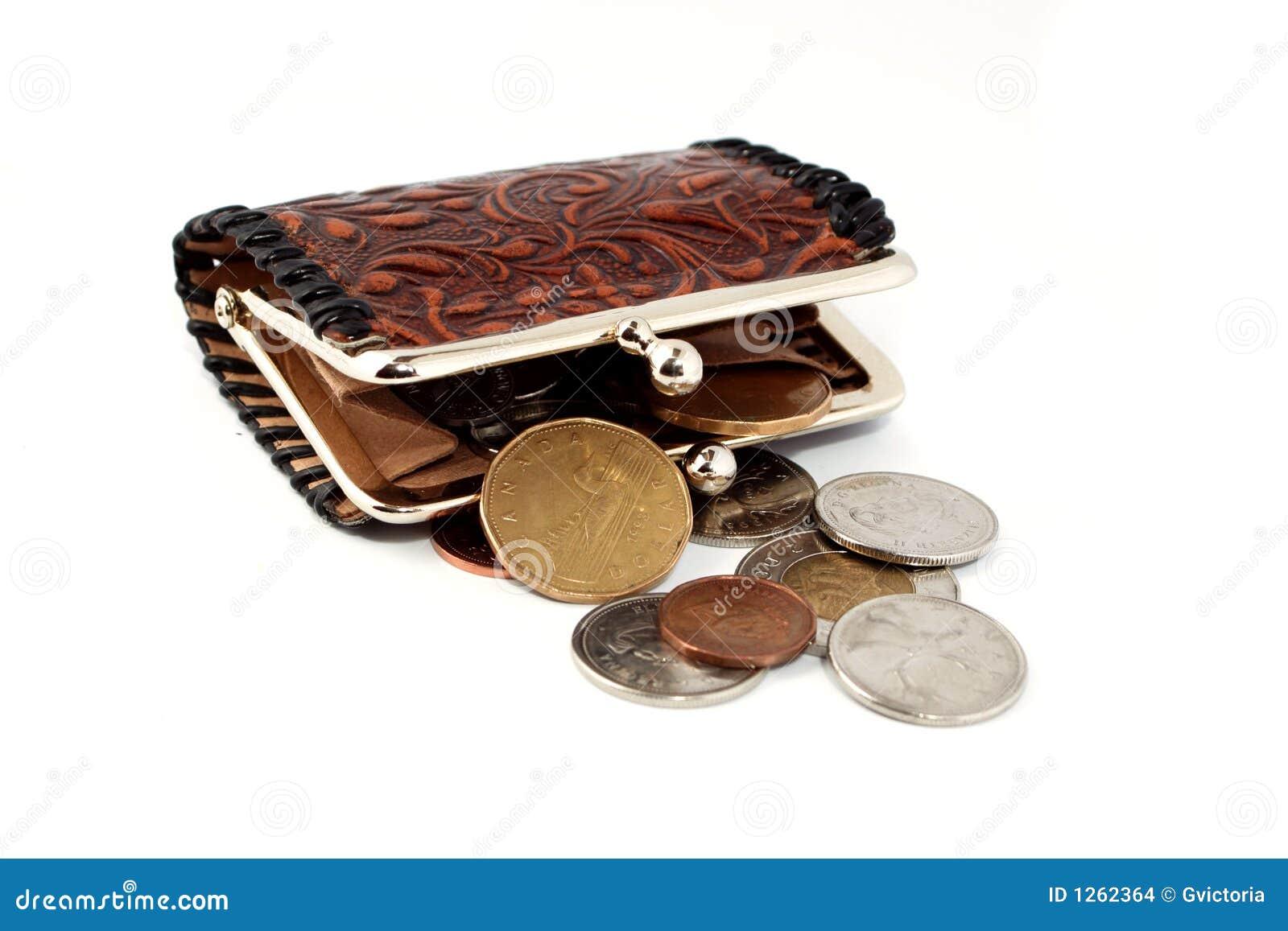 Money Change Purse Stock Images - Image: 1262364