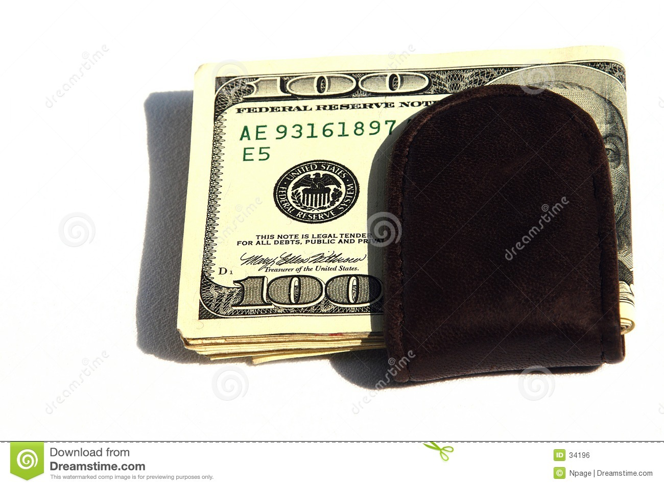 Download Money Clip II stock photo. Image of clip, money, currency - 34196