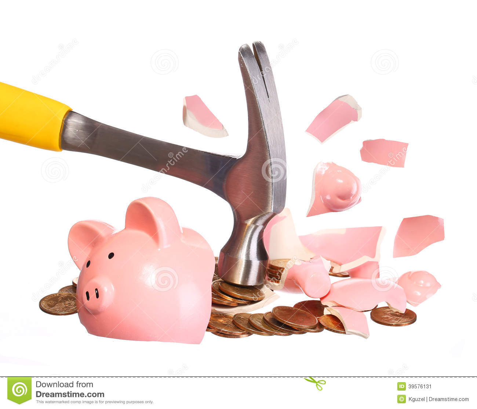 money concept hammer breaking piggy bank stock photo clipart hammer bw clipart hammered