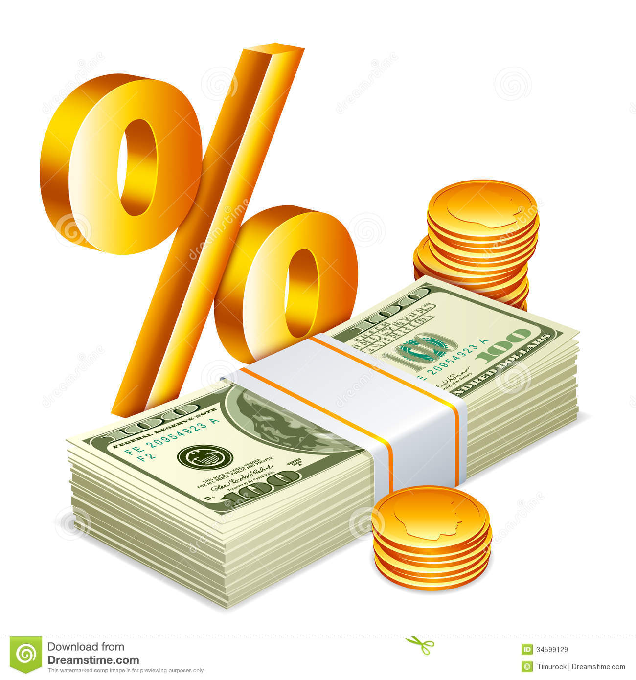 how to find percentage of money