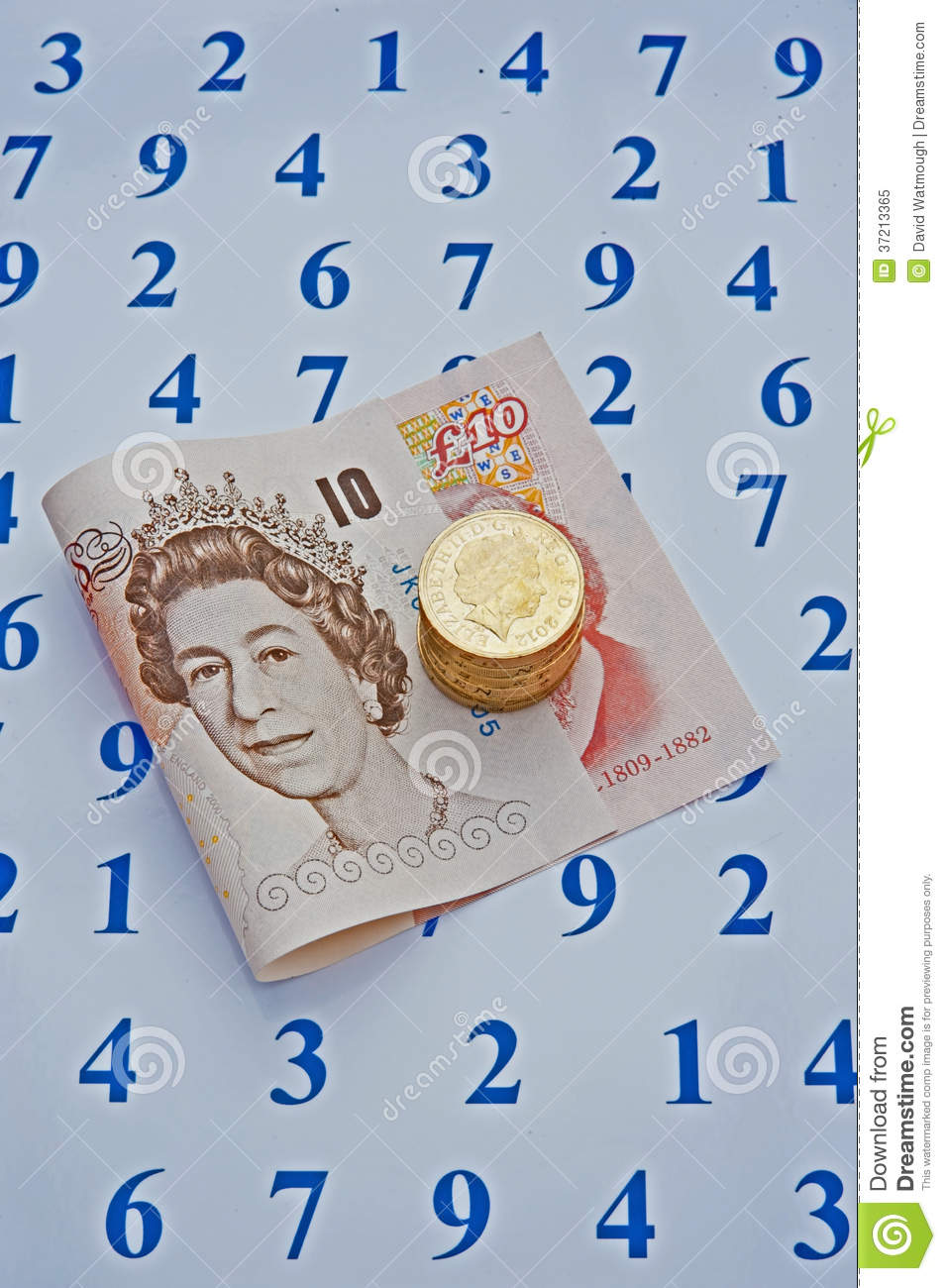 money counts stock image image of cost coins purchase 37213365