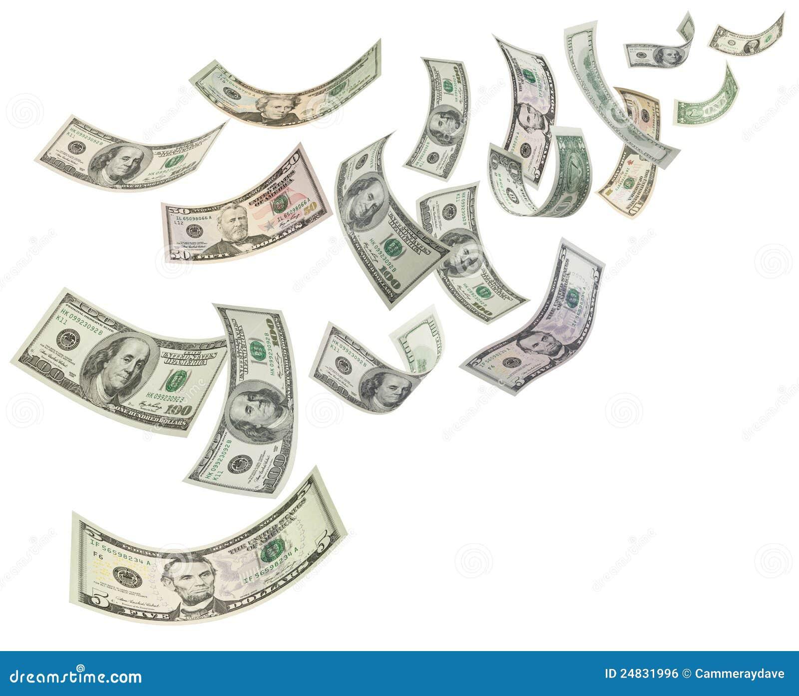 Money Dollars Background Stock Illustration Image Of