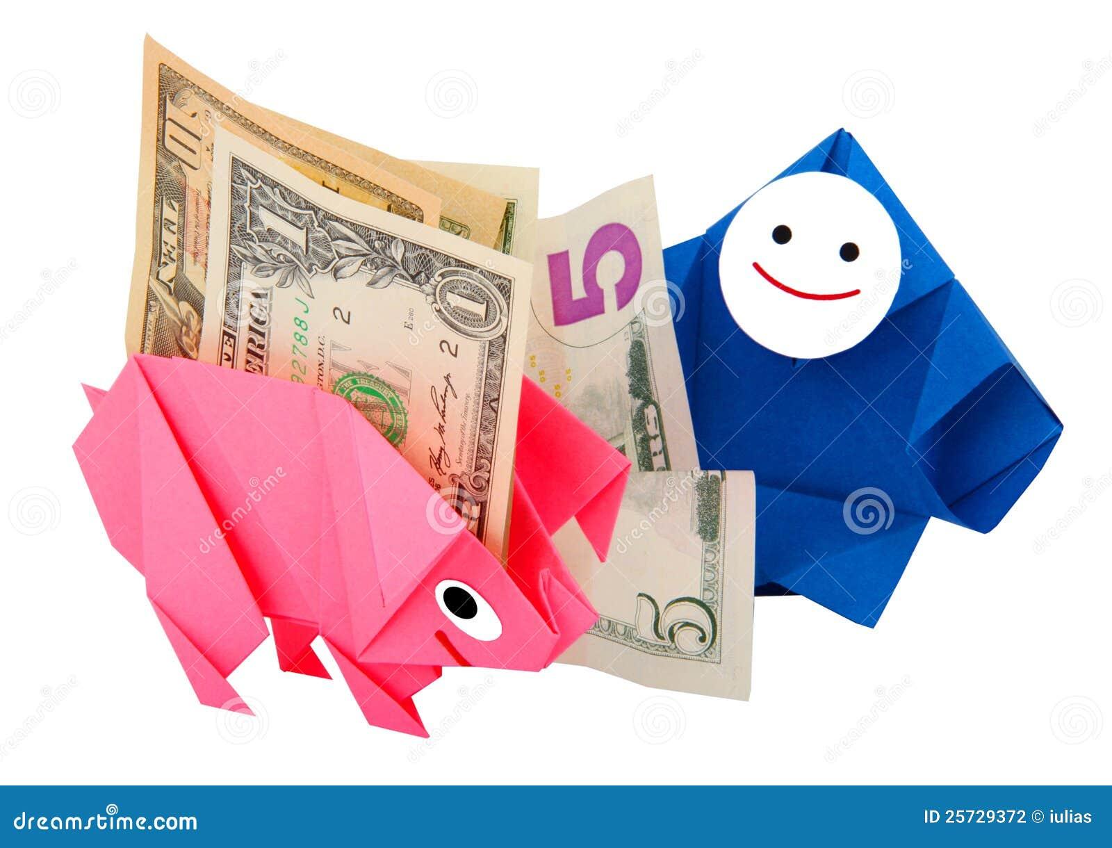 Money, earnings, and economy metaphor
