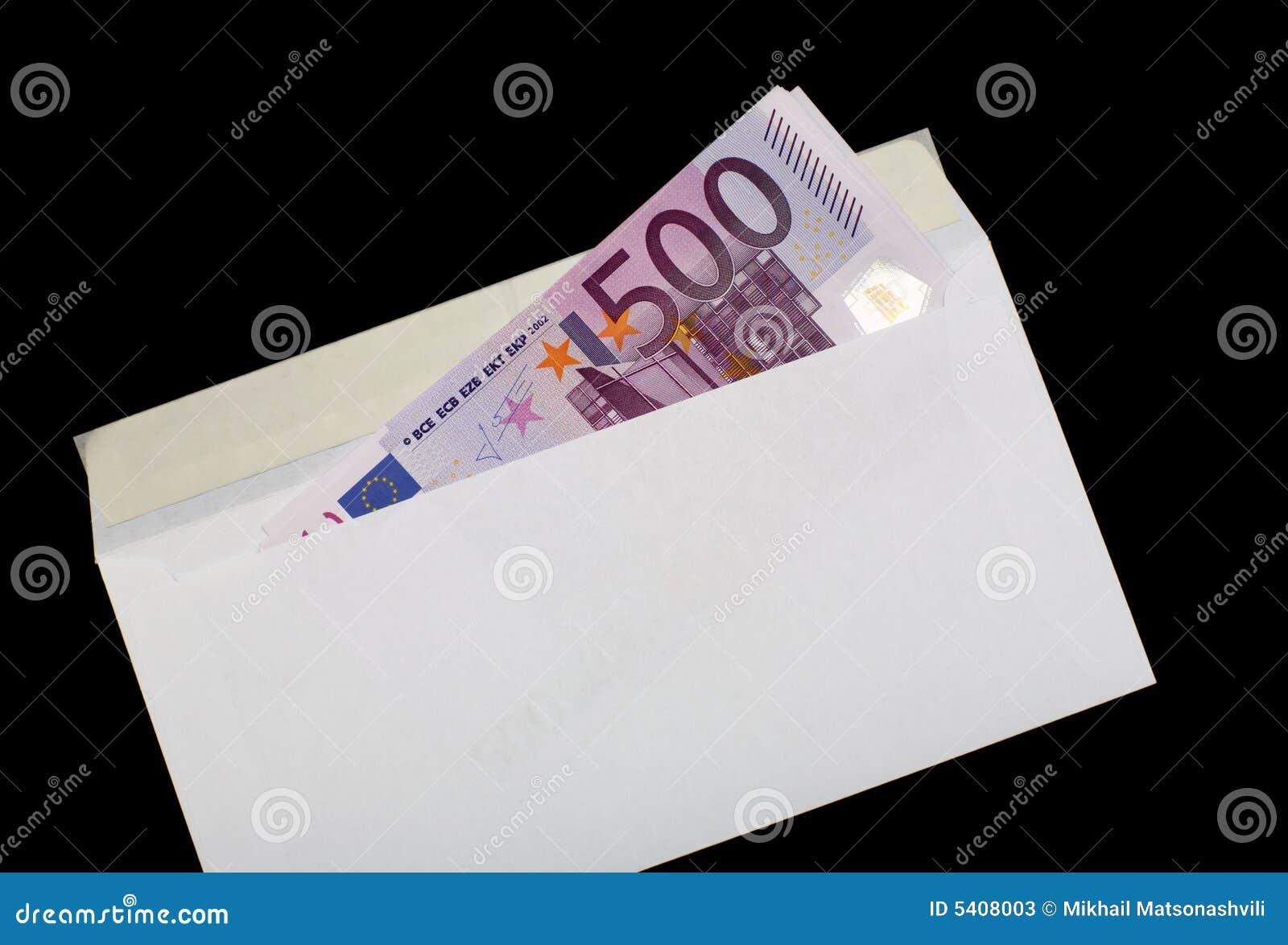 Money In Envelope 5 Stock Photos - Image: 5408003