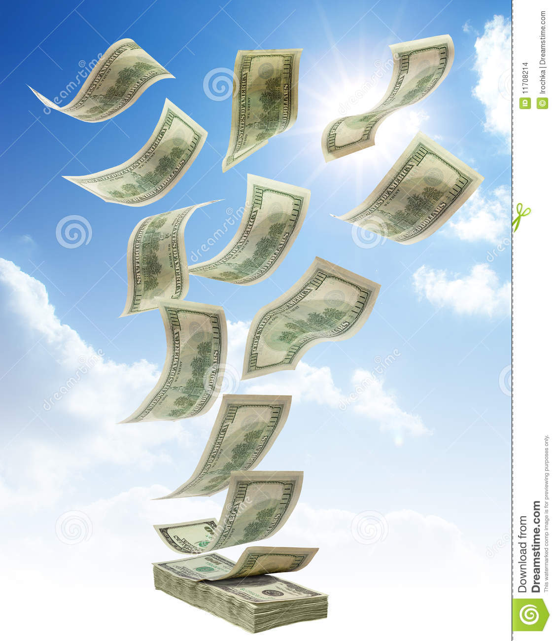 Money falls from the sky essay