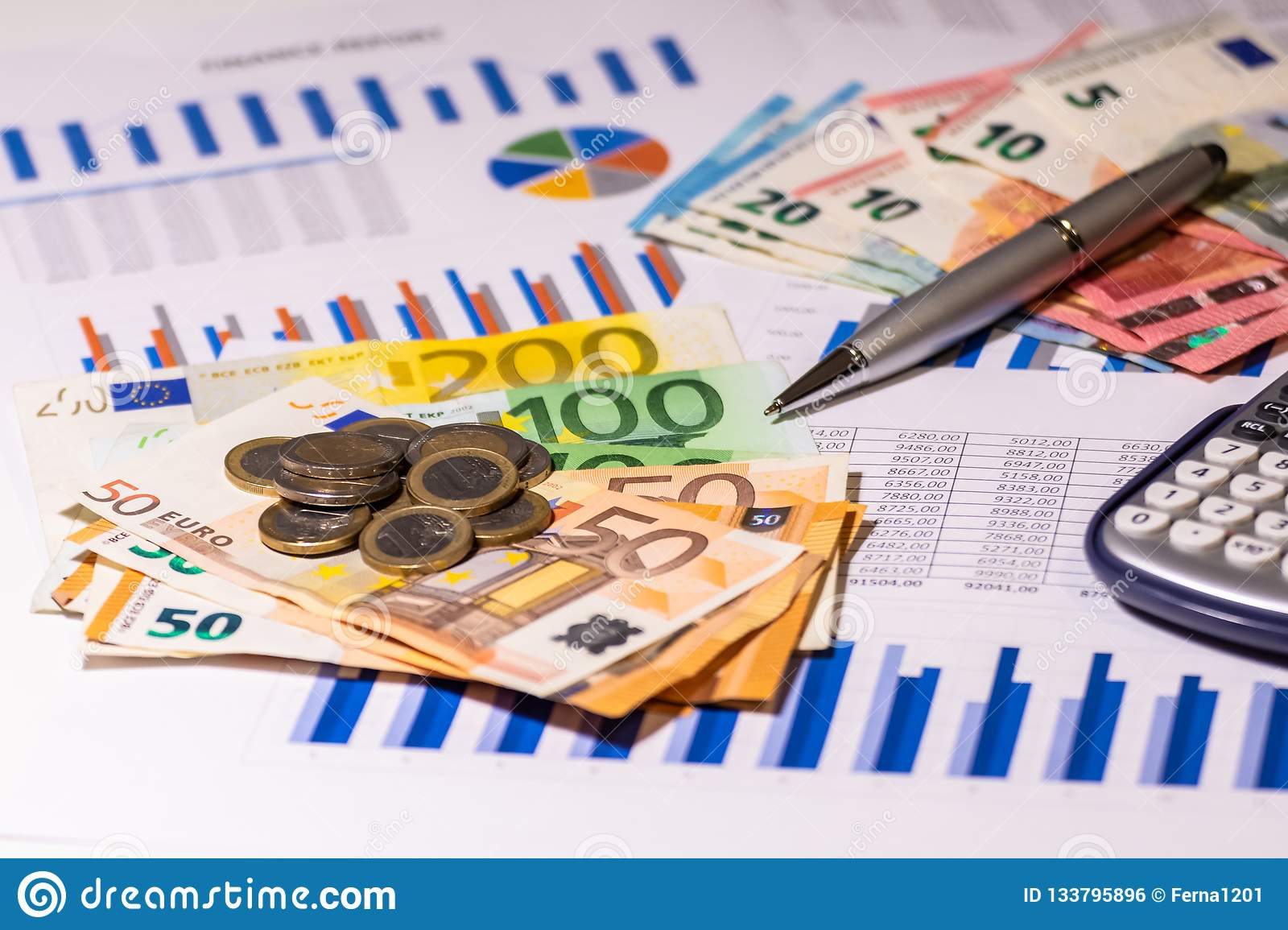 Money and finance report. Planning costs