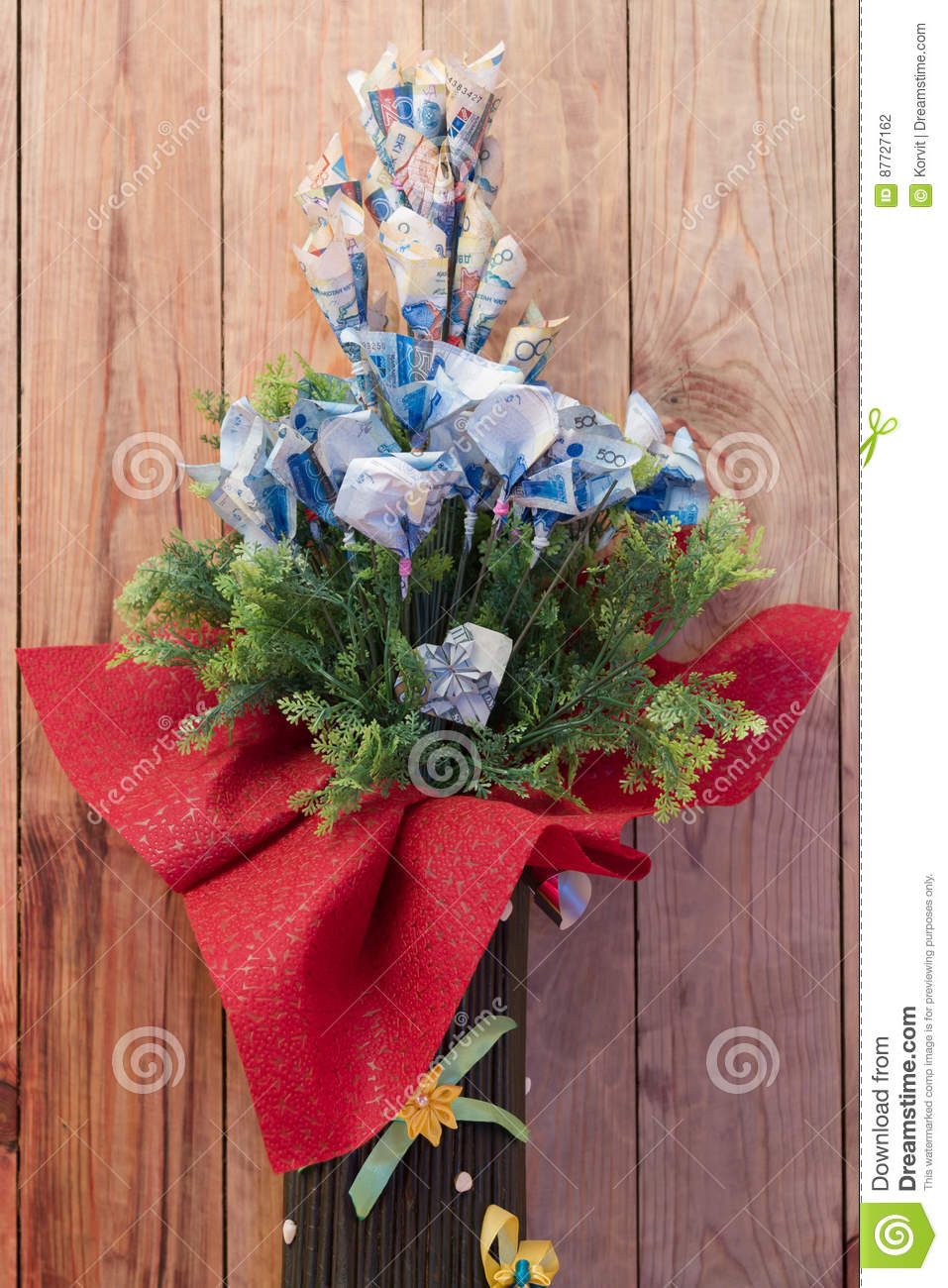 Money instead of flowers stock photo image of background 87727162 bouquet made of money in lieu of flowers izmirmasajfo