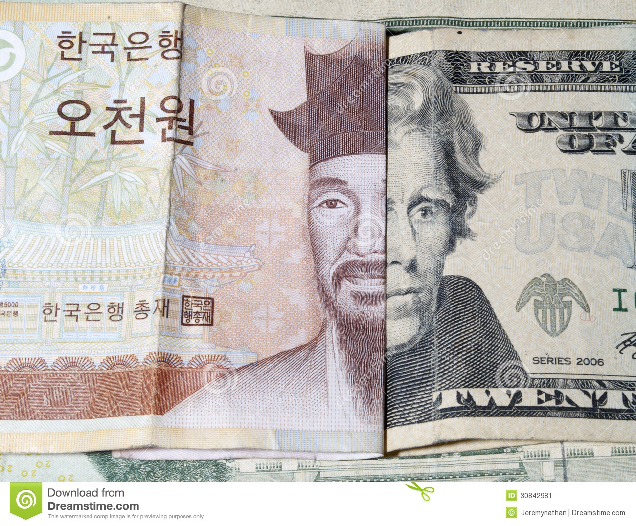 Money Foreign Currency Stock Image - Image: 30842981