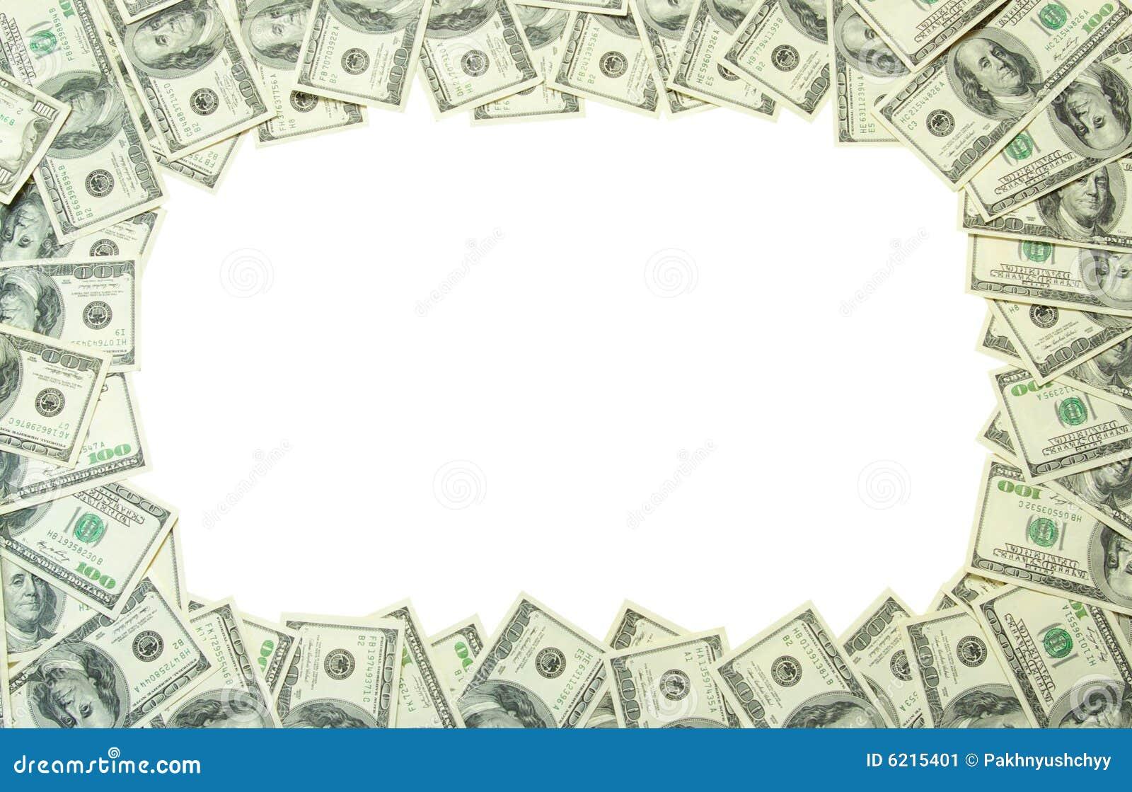 Money Frame Stock Image Image 6215401