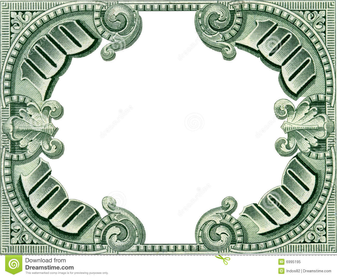 Money Frame stock image. Image of empty, close, loan, finance - 6995195