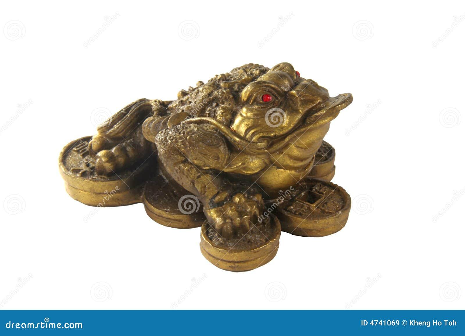 money frog feng shui item for business wealth stock image image of culture chinese 4741069. Black Bedroom Furniture Sets. Home Design Ideas
