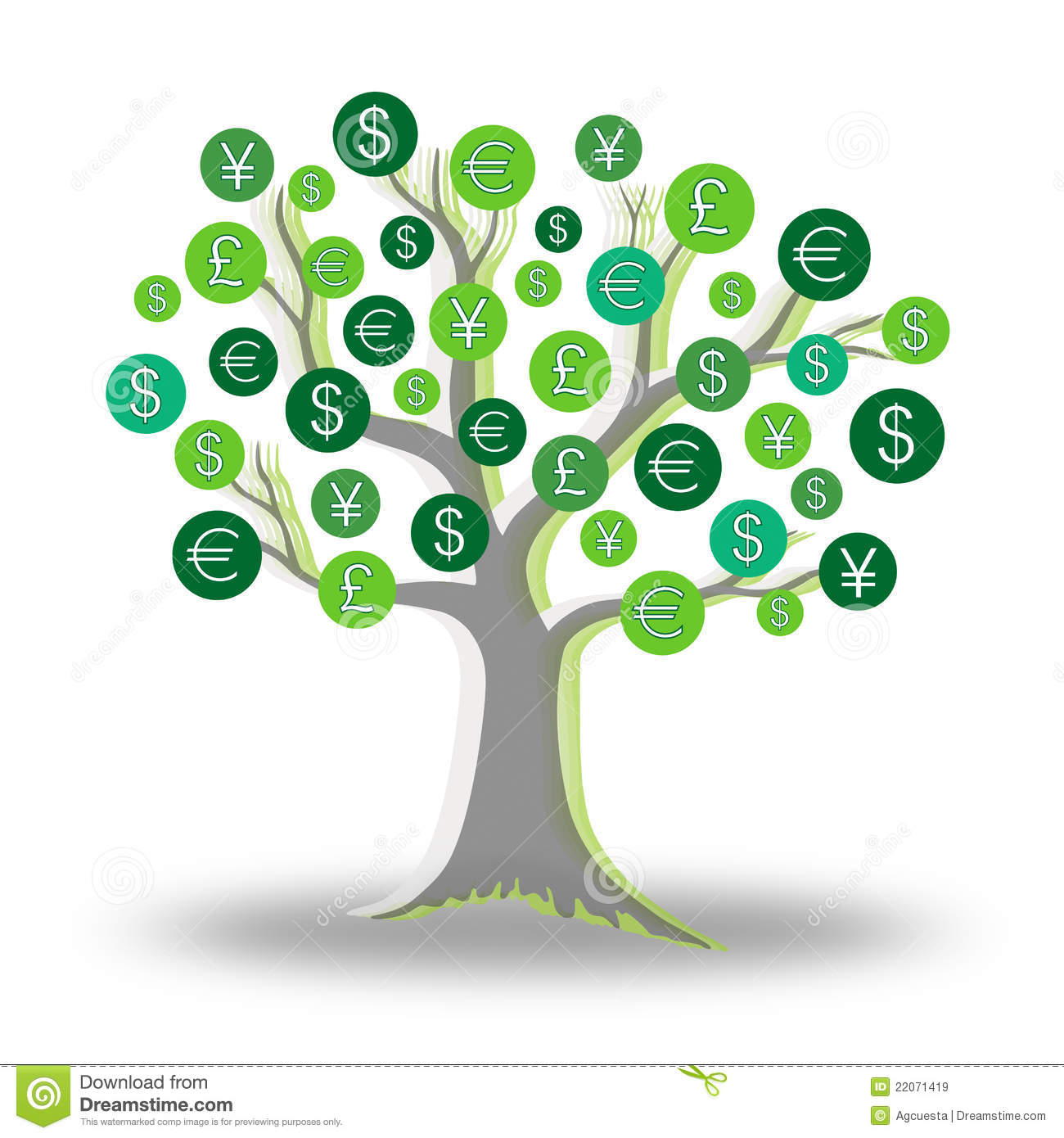 Lexus Credit Cards >> Money Green Tree Growing Currency Royalty Free Stock Images - Image: 22071419