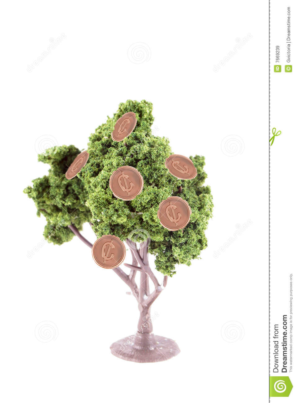 Money Growing On Tree Royalty Free Stock Images Image