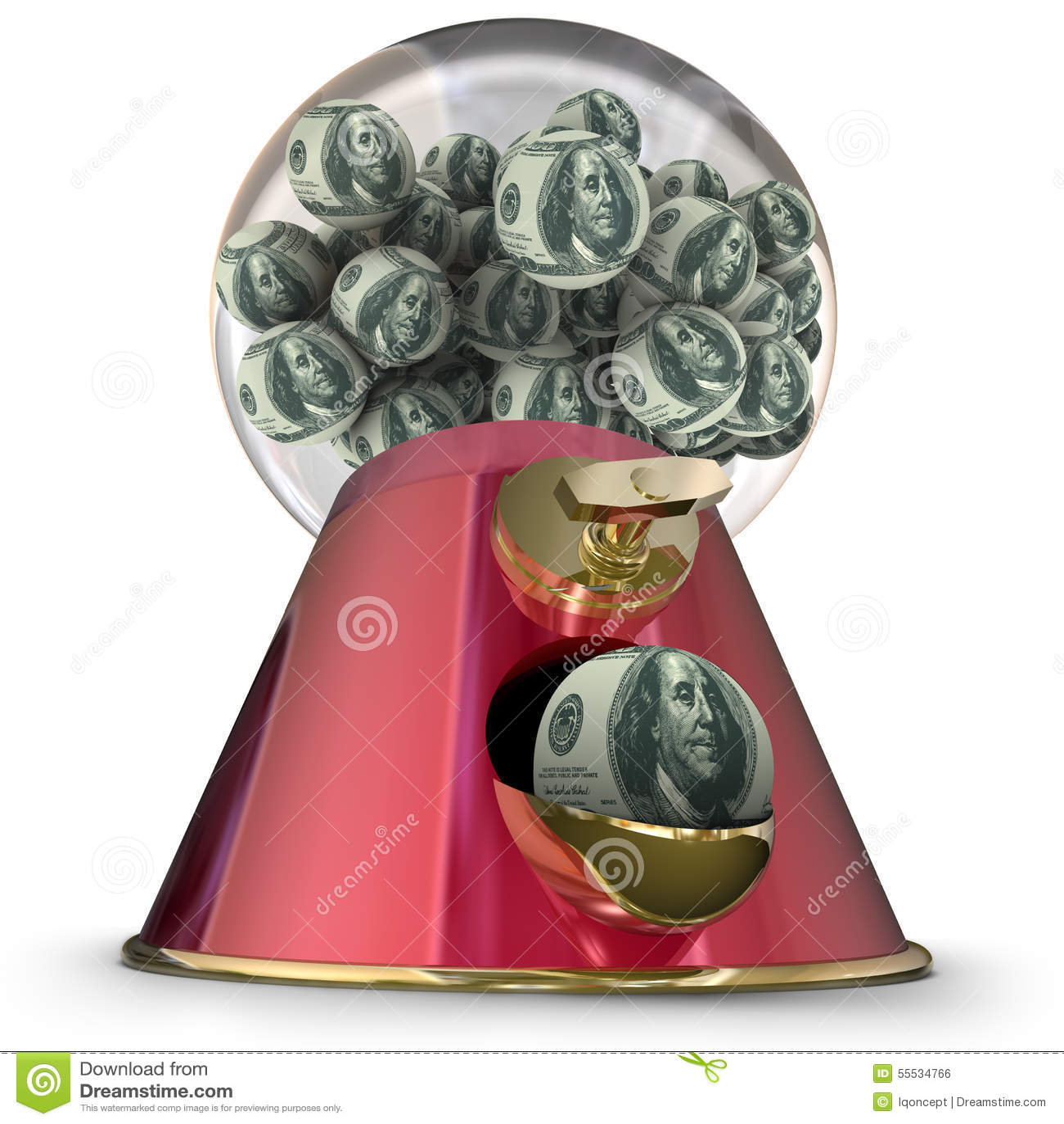 money dispenser machine