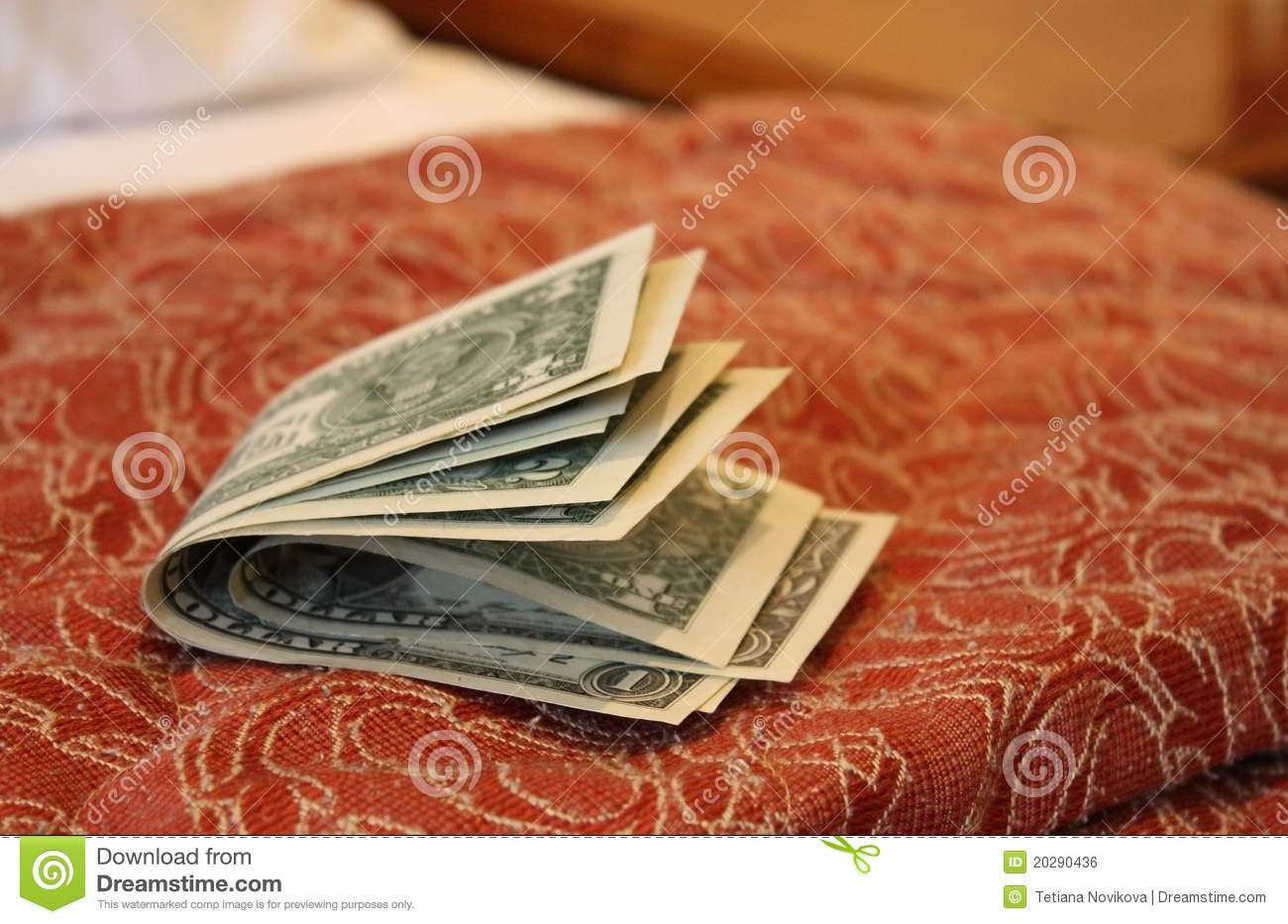 money on hotel bed stock photo. image of luggage, tripping - 20290436