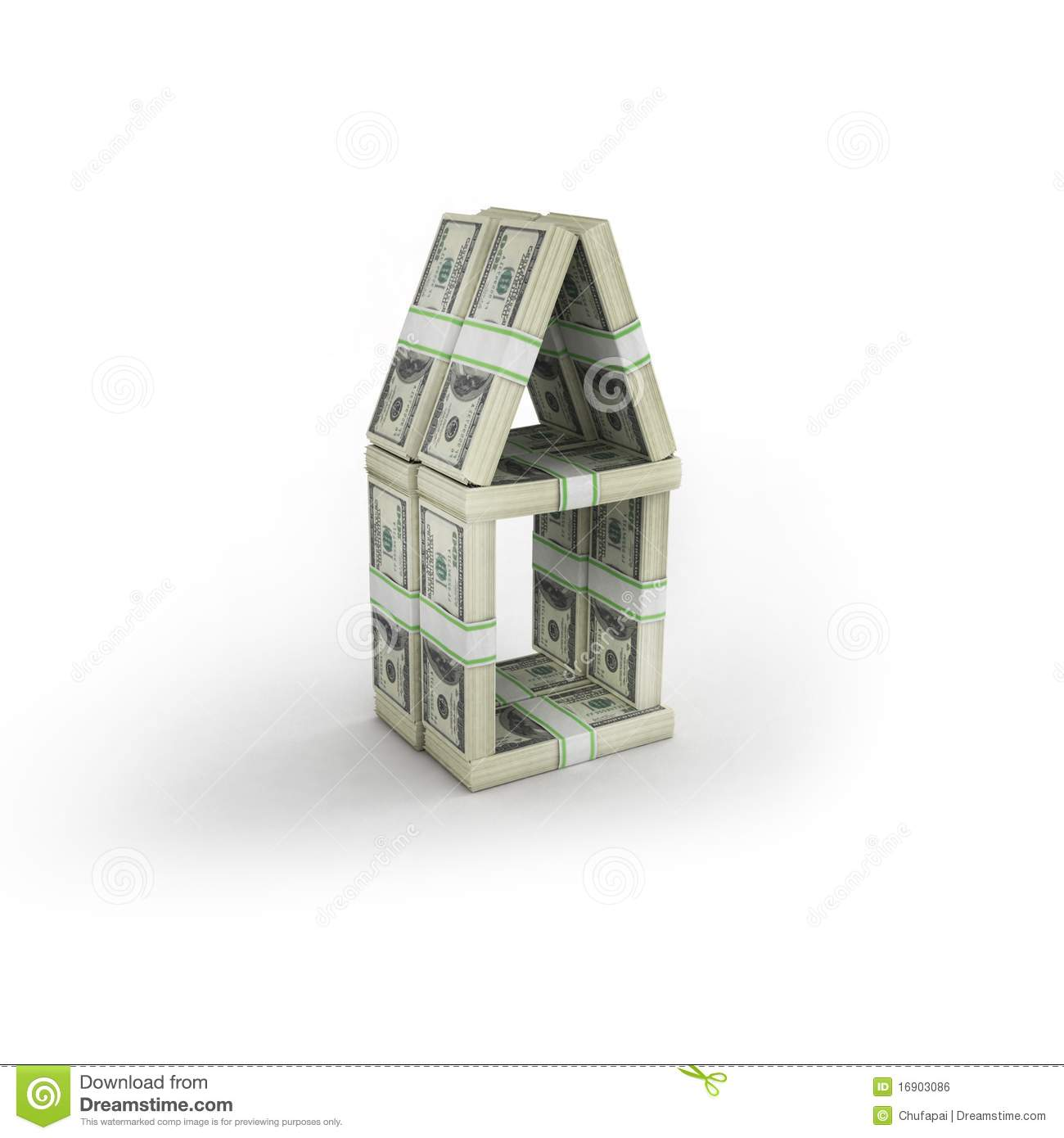 Money House Royalty Free Stock Image Image 16903086
