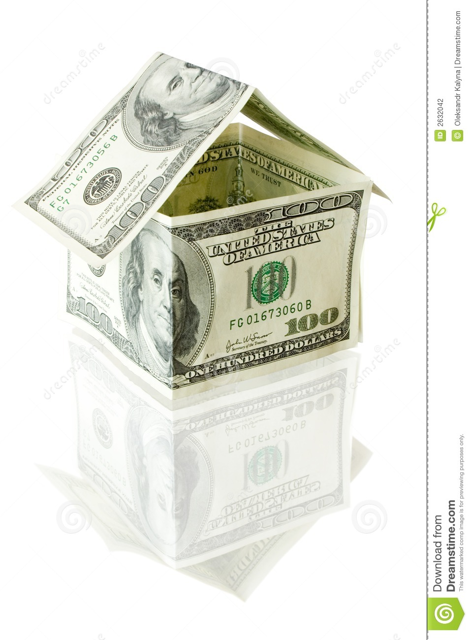 Savings money buying new house royalty free stock image for Saving for a new home