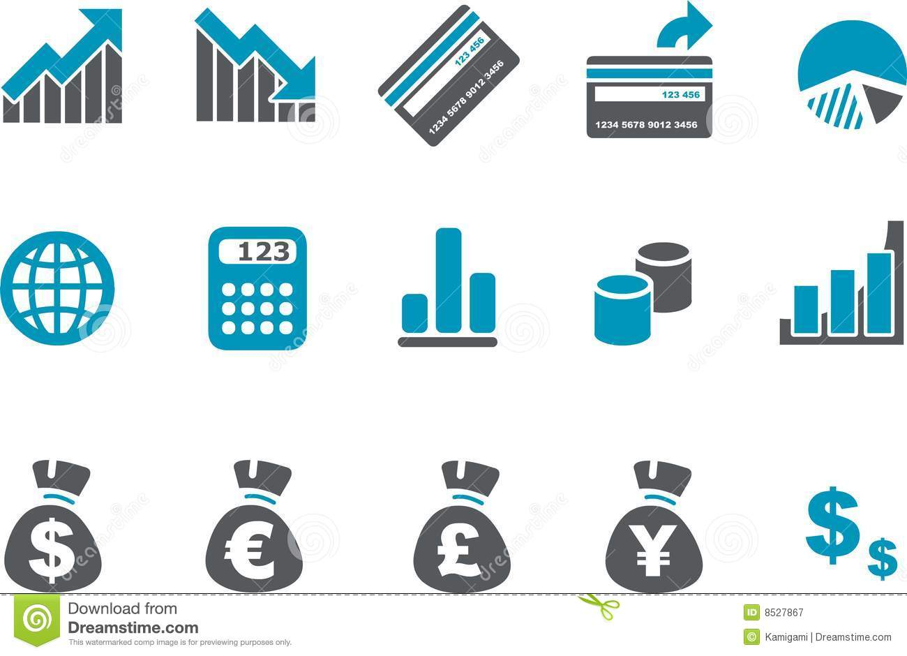 Money Icon Set Royalty Free Stock Photography - Image: 8527867: dreamstime.com/royalty-free-stock-photography-money-icon-set...