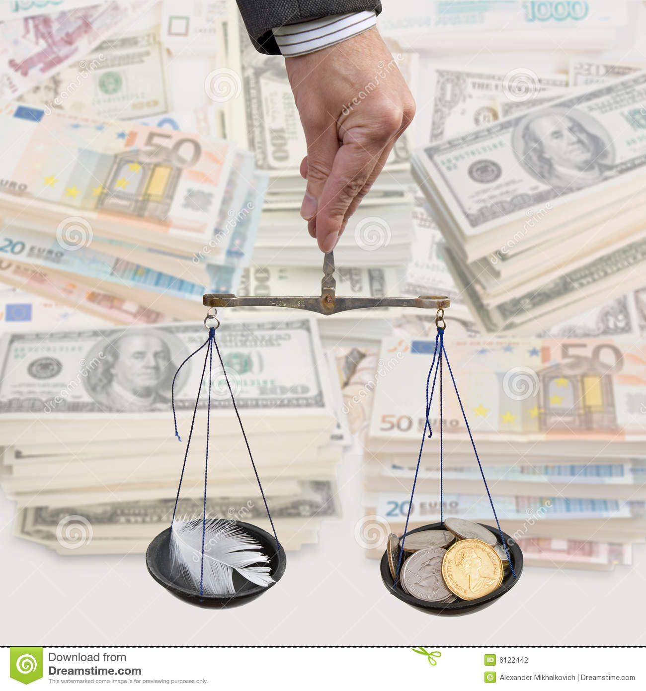 Money And Inflation Stock Photography Image 6122442