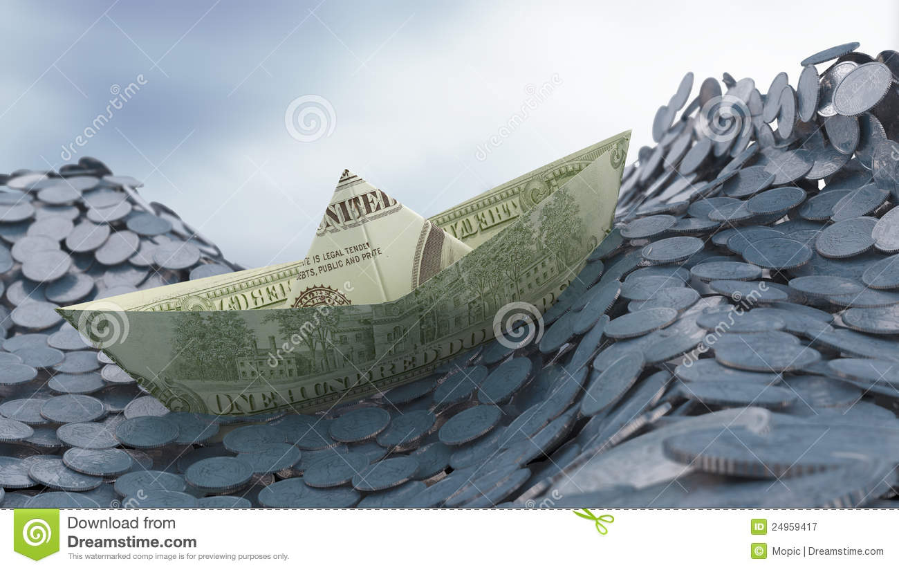 Money and investment concep
