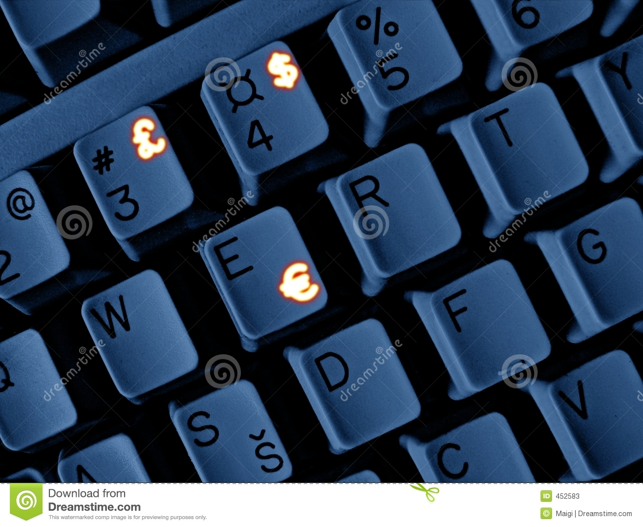 Download Money keyboard stock image. Image of internet, backgrounds - 452583