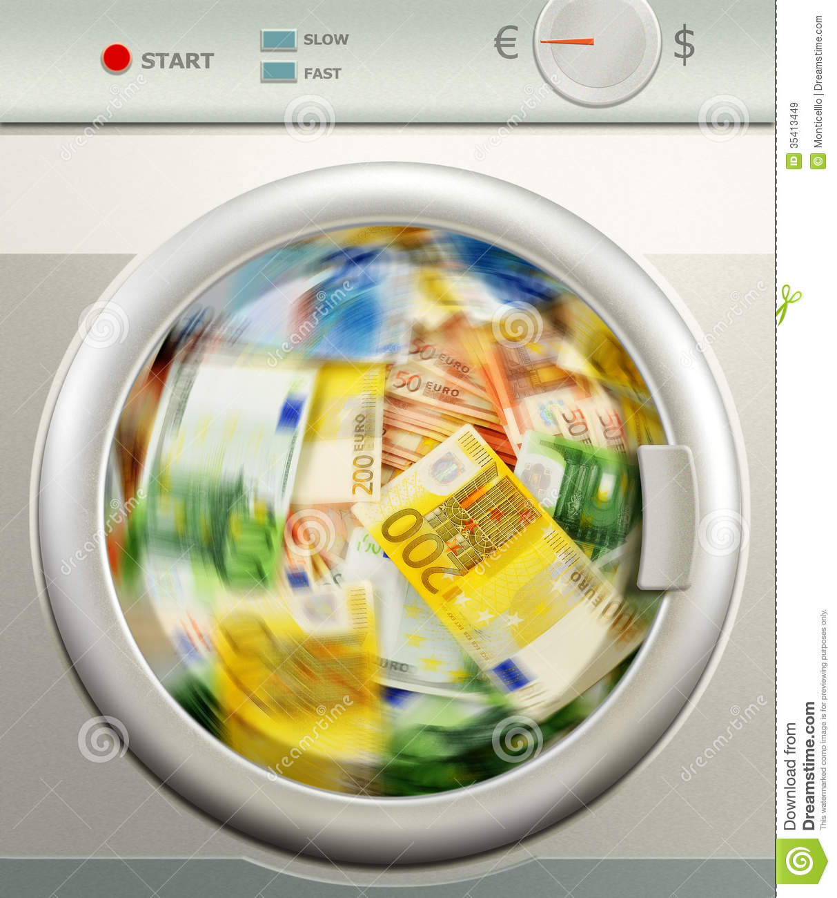 how to clean money laundering