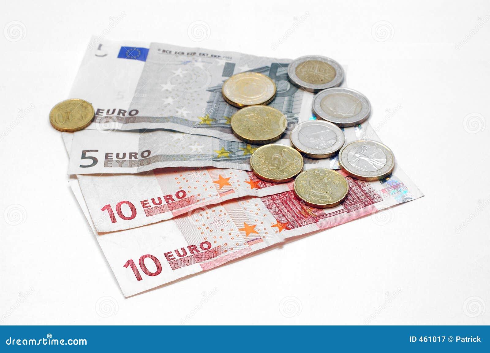 Money makes the world go around, Euro