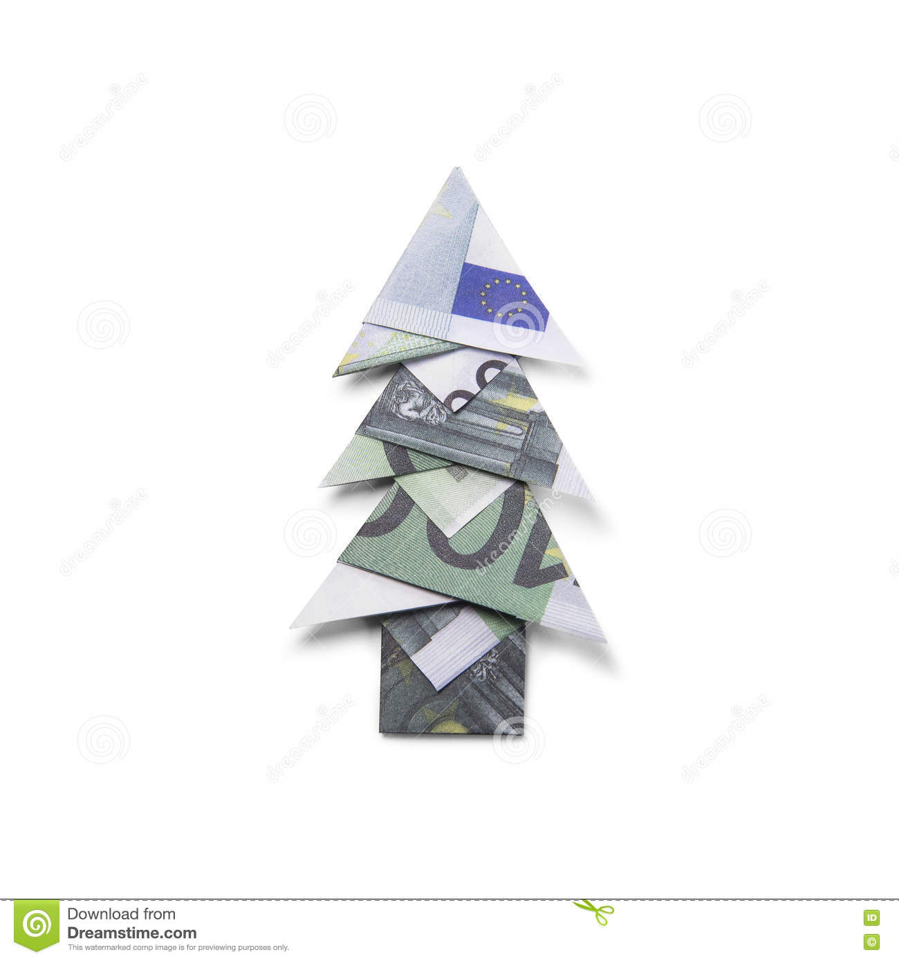 Money Folding Christmas Tree - Wallpaperall - photo#27