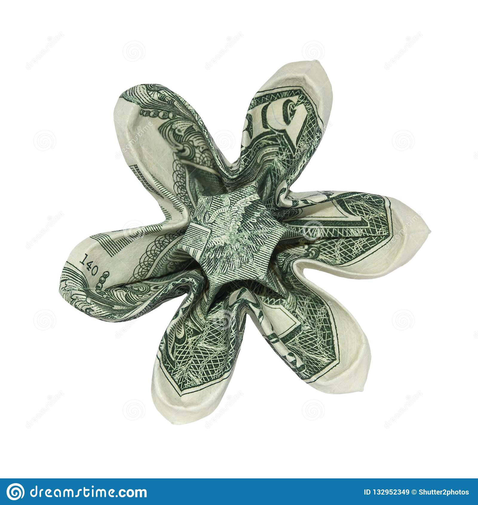 Easy and Beautiful Money FLOWER | Origami Dollar Tutorial ... | 1689x1600