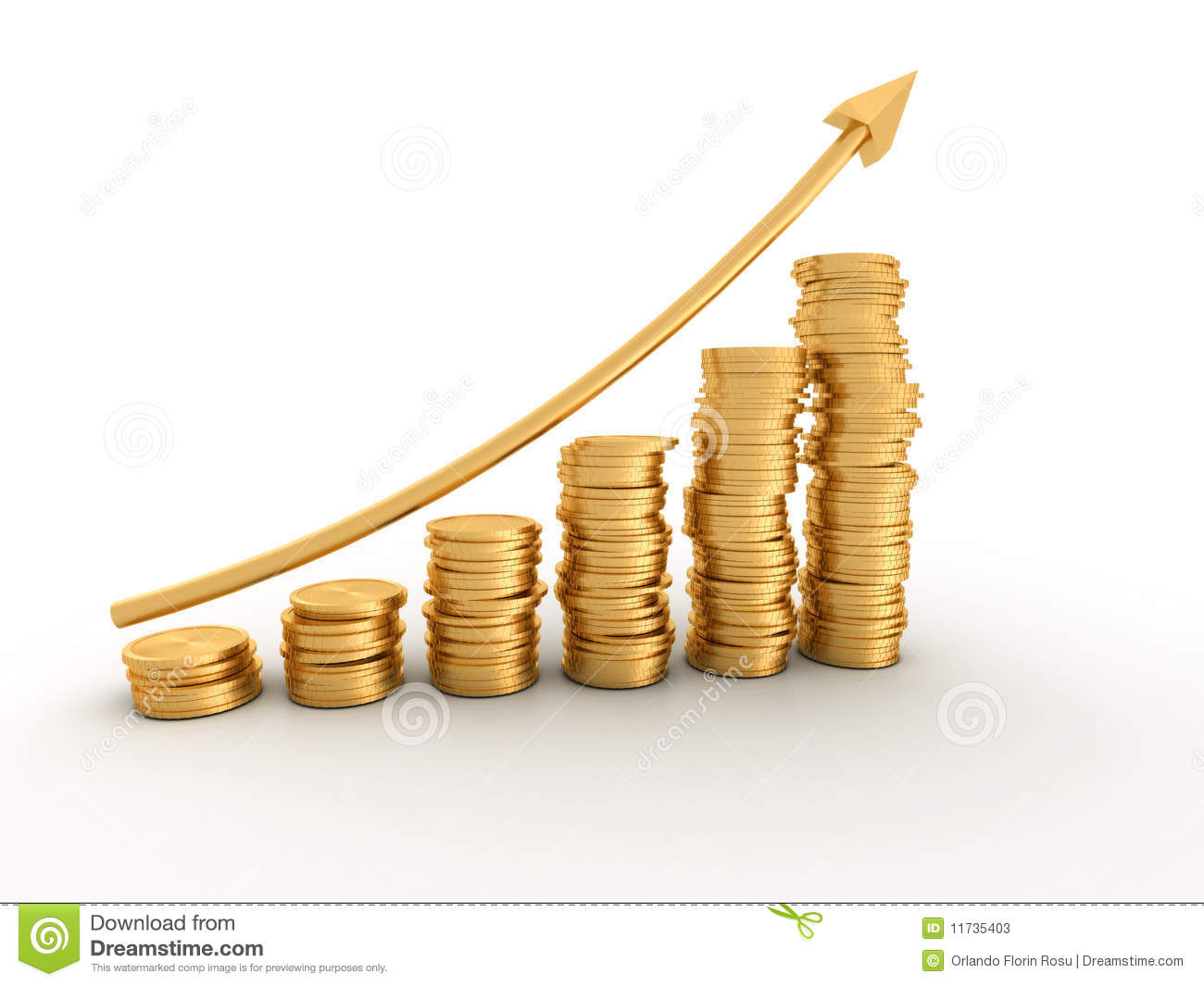 Money Profit Stock Photos - Image: 11735403