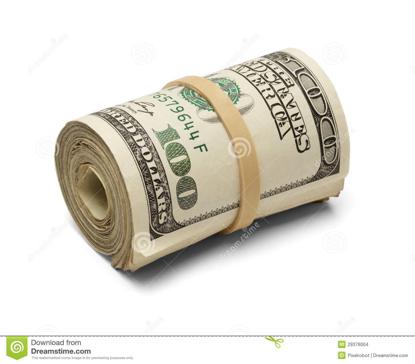money roll stock images image 29376004 100 dollar bill vector dollar bill template vector
