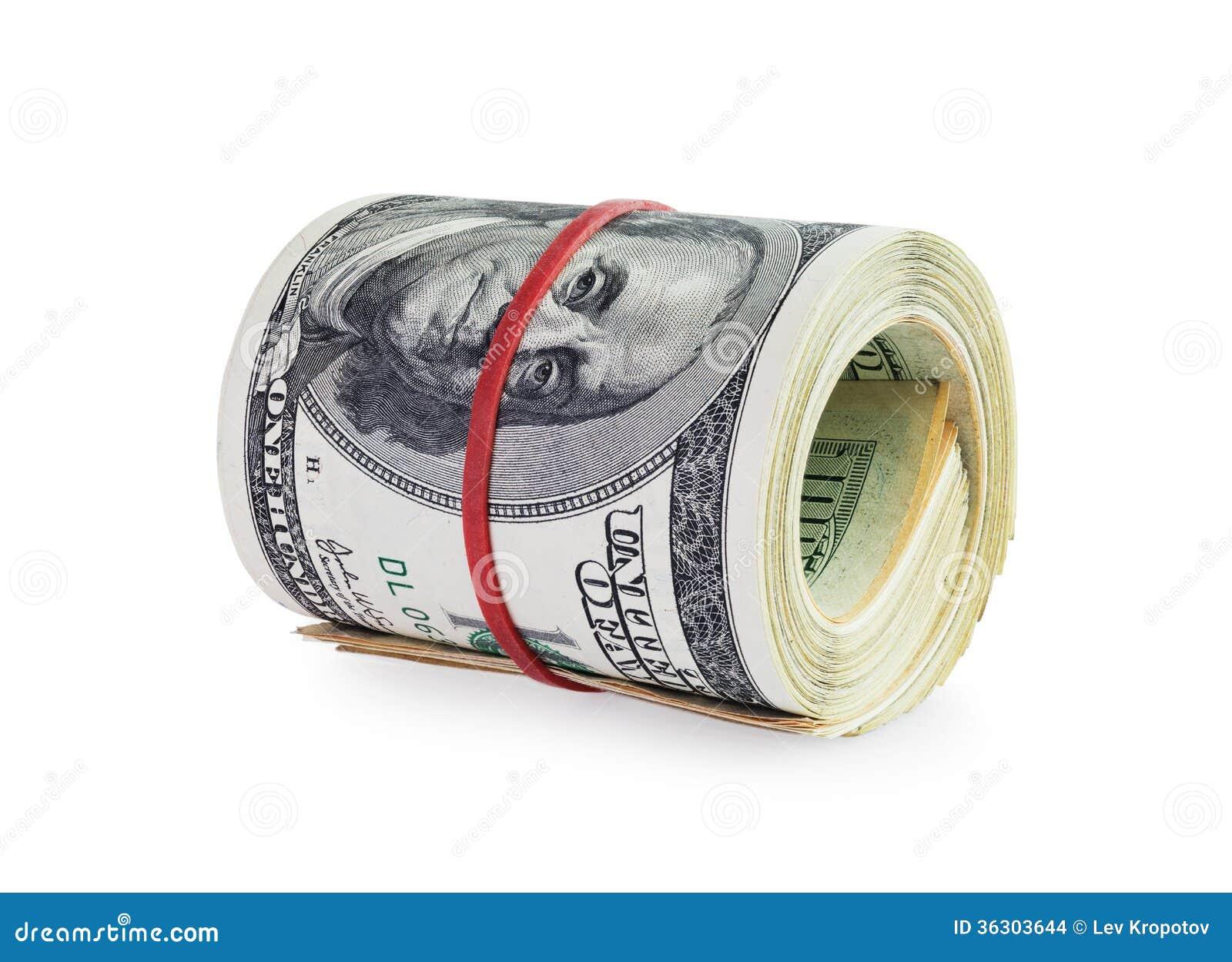Money in roll